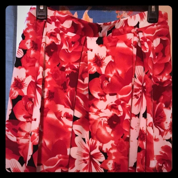 LuLaRoe Dresses & Skirts - BNWOT LLR Madison skirt! Gorgeous ! 🌹🌺🌸🥀